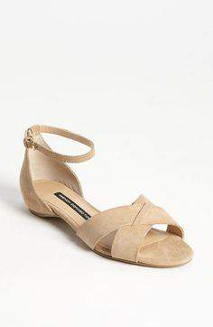 French Connection Vicky Flat | Nordstrom $114.95 - for a shorter dress (right above the knee) this flat will be comfortable and lady-like.