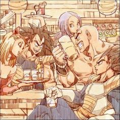 DBZ Vegeta's Crew - this is a cool picture