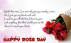 Valentine's Day QUOTATION - Image : Quotes about Valentine's Day - Description Happy Rose Day Shayari in Hindi for Girlfriend Sharing is Caring - Hey can you Share this Quote Valentine Day Week, Valentines Day Messages, Girlfriend Quotes, Husband Quotes, Romantic Roses, Romantic Love Quotes, Rose Day Shayari, Wishes For Husband, Friendship Images