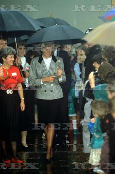 1987-10-20 Diana visits the Little Rascals Playgroup in Hillingdon, Middlesex, in aid of the Pre-School Learning Alliance