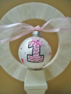 DIY Personalized Birthday Ornament