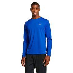 Men's Long Sleeve Tech T-Shirt Blue X Large - C9 Champion