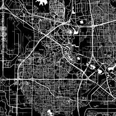 Lahore Pakistan Downtown Vector Map Lahore pakistan Pakistan