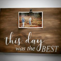 Clip frame projects too! One of our $29 family friendly projects. #thebestday #photoclipframe Clip Frame, Urban Rustic, Good Day, Friends Family, Good Things, Inspirational, Projects, Diy, Home Decor