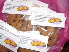 SMART Cookies-Motivation for test-takers