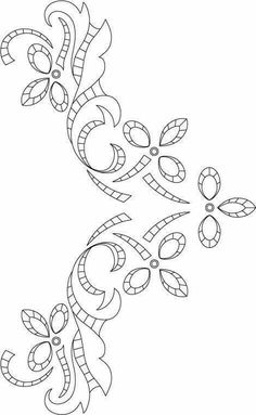 Awesome Most Popular Embroidery Patterns Ideas. Most Popular Embroidery Patterns Ideas. Cutwork Embroidery, Hand Work Embroidery, Hand Embroidery Patterns, Vintage Embroidery, Machine Embroidery Designs, Embroidery Stitches, Embroidery Transfers, Tambour Beading, Motifs Perler