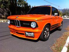 Bmw 2002 naranja 1974