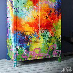 Graffiti Furniture by Dudeman