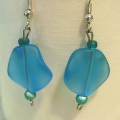 A personal favorite from my Etsy shop https://www.etsy.com/listing/51641512/seabreeze-earrings