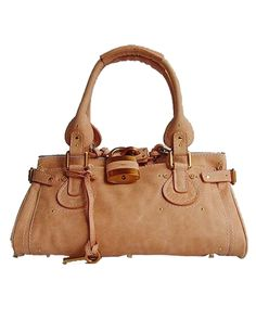 Chloe Paddington Satchel Light khaki