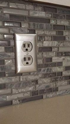 Save time money by painting outlets wall decor crafts customer do it yourself project she took metallic spray paint and covered her outlets with electrical solutioingenieria Images