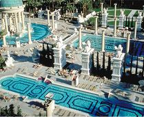 Las vegas swimming pools on pinterest las vegas for Caesars swimming pool