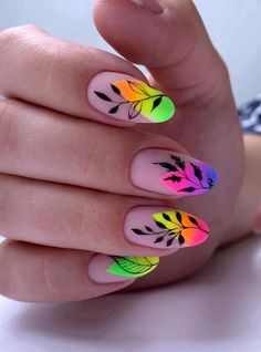 Almond Nail Art, Almond Nails, Nude Nails, Nail Manicure, Oval Nails, Manicure Ideas, Gel Nail, Acrylic Nails, Stylish Nails