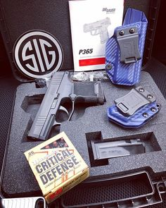 Sig Sauer P365 IWB/AIWB Kydex Holster - Profile Holster - Right Hand