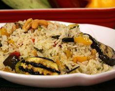 Arroz com Legumes Grelhados (vegana)