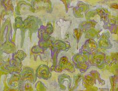 繁花圖錄 A 顏貽成 油畫 94x120.1x4.2cm