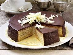 Baumkuchen-Torte Rezept | LECKER