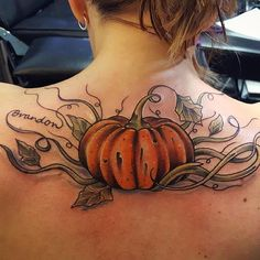 #pumpkintattoo @empire_tattoo_boston #tattoo #bostontattoo www.empiretattooinc.com