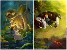 Эти художники рисуют волшебные миры, в которых хочется затеряться