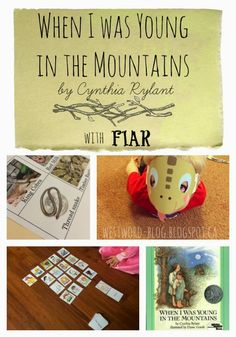 West Word: When I Was Young in the Mountains {FIAR}