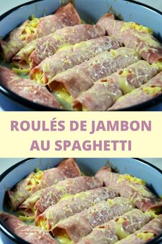 Ham rolls with spaghetti - - Beef Soup Recipes, Vegetable Soup Recipes, Chicken Recipes, Ham Rolls, Tip Top, Tilapia Recipes, Dinner Party Recipes, Deviled Eggs Recipe, Healthy Sandwiches
