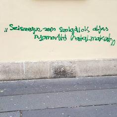 Sziszegve sem szolgálok aljas nyomorító hatalmakat #csudapest #budapest #nyolcker #jozsefvaros #welovebudapest #budapestagram #hungary #momentsinbudapest #mindekozben