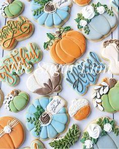 Amanda De Leon on Bring on the ready to be again! Acorn Cookies, Fall Cookies, Iced Cookies, Cut Out Cookies, Pumpkin Cookies, Royal Icing Cookies, Cupcake Cookies, Sugar Cookies, Cookies Et Biscuits