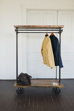 garment rack by Brackish