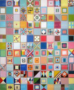 """""""Teorema"""" , acrylic on canvas,100 x 80 cm,2013 . By Diego Manuel"""