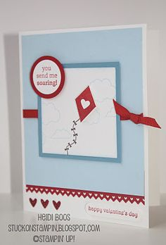 Stuck on Stampin': card making night - valentine's day style!