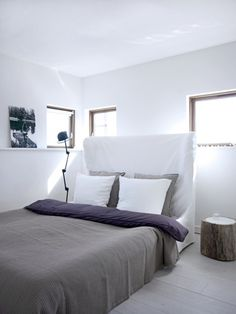 bed /// simple bedding