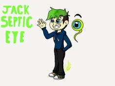 This is my design of jacksepticeye and I might stick with it