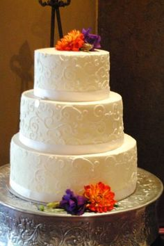 Buttercream wedding cake  Maddy Cakes Bakery SLC Ut