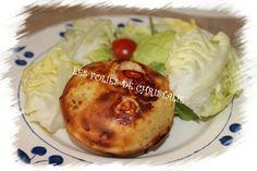 Petits cakes feta,courgette, tomates cerises Cake Feta, Pie Co, Petit Cake, Baked Potato, Potatoes, Baking, Ethnic Recipes, Passion, Zucchini