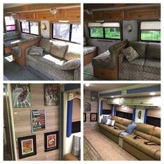 The owners of these motorhomes, campers, and travel trailers decided to remove their dinette booth. Check out these photos of the space without the booth and what they replaced it with.