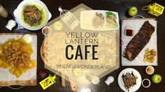 Yellow Lantern Cafe - Lilac, Marikina Twin Boys, Diy Crochet, Lilac, Lanterns, Wonderland, Yellow, Ethnic Recipes, Food, Toddler Twins