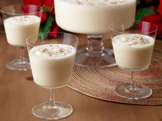Get Mama's Eggnog Recipe from Food Network