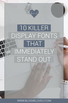 10 Killer Display Fo 10 Killer Display Fonts That Immediately Stand Out Social Media Quotes, Social Media Tips, Online Marketing, Social Media Marketing, Affiliate Marketing, Marketing Case Study, Entrepreneur, Marketing Tactics, Graphic Design Tips