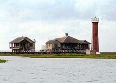 Lydia Ann Lighthouse, Port Aransas, Tx  the lighthouse people