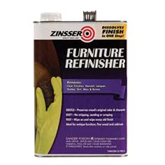 Gently remove clear finish from fine furnishings with Rust-Oleum® Zinsser® Furniture Refinisher. This wood-safe formula preserves the color and character of the original piece while delicately removing its finish. No harsh chemicals that could harm wood.