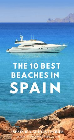 Spain Bucket List I These are the 10 best beaches in Spain you should visit before you die. From the Canary Islands to Costa Brava, find out about the most beautiful beaches to see during your summer holiday in Spain as well as during the off season. #spaintravel #bestbeachesinspain #beautifulbeaches