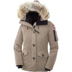 Canada Goose Montebello Down Parka - Women's in Tan