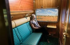 Gold service twin cabin: The Ghan.Photo: Liam West