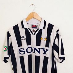 The classy vintage kappa home shirt of the Italian Giants a8566f9e9