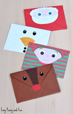 Printable Christmas Envelopes
