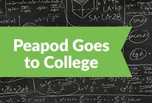 Make sure your #college kids are eating right! Here are some of the colleges that #Peapod delivers to.
