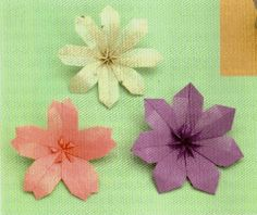 Rare Origami Cherry Blossom Diagram Download