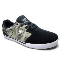 Circa Trainers Model tweest Black Sneakers Skate Shoes Mand And Womens