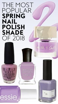Everyone on Pinterest is obsessed with this spring nail polish shade. #nails #springnails #nailpolishcolors #bestnailcolors