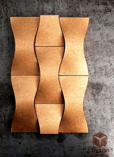 Decorative Wall Coverings - Skales®  ©Byzon - Made with ecosense™ resin (1mm). B1 Fire Resistant / Sound & Heat Insulation available / 1sqm(m2) pack  more info at: http://sinktal.com/ecosense/data/uploads/downloads/skales_ECCENTRIC_web.pdf